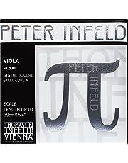 Thomastik Cuerdas para Viola PETER INFELD Synthetic Core juego 4/4 mediana