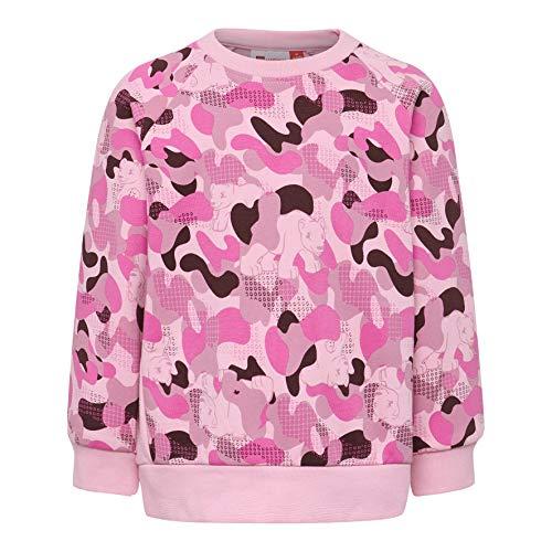 Lego Wear Duplo Girl Lwsophia 602-Sweatshirt Sweat-Shirt, Rose (Rose 434), 98 Bébé Fille