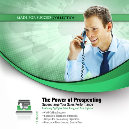 The Power of Prospecting audiobook cover art