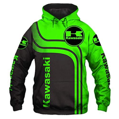 xiaoxian Männer Hoodies Zum Kawasaki-F.C 3D Drucken Pullover Sweatshirts Nfl Fußball Ventilator Unisex Jumper Tops Sport / A1 / XL