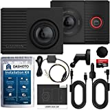 Garmin Tandem Dash Cam Parking Mode Bundle   Dual Lens with Interior Night Vision, 180 Degree Viewing Angle   Parking Mode Cable and Installation Kit Included
