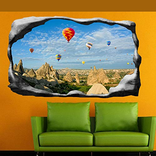 Luftballons Kappadokien Wandaufkleber 3D Kunst Wandzimmer