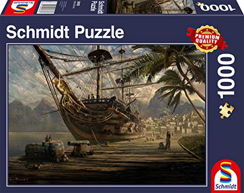 Schmidt - Nave all'Ancora Puzzle, 1000 Pezzi