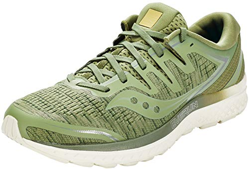 Saucony Guide ISO 2 Shoes Olive Shade herenschoenen, schoenmaat US 12 | EU 46,5 2019 loopsportschoenen