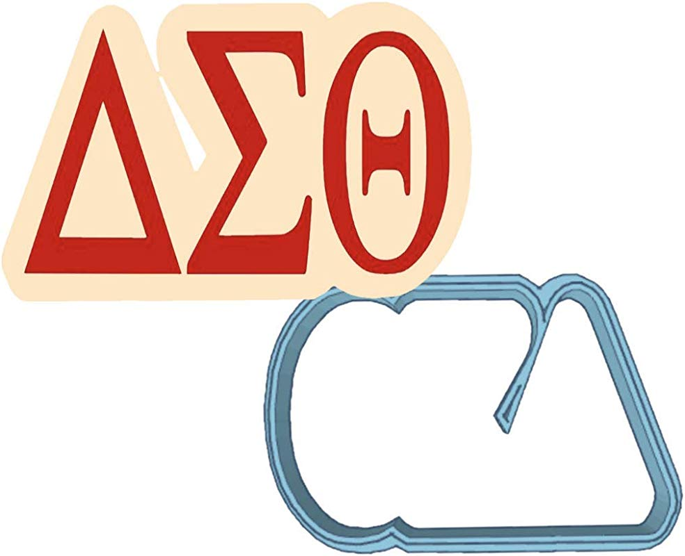Delta Sigma Theta Letters Cookie Cutter American Confections Sorority Rush