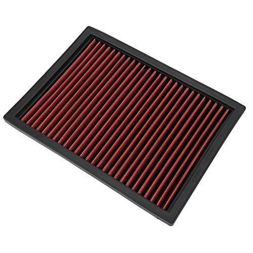 Panel de filtro de aire de repuesto de alto flujo de aire para aumentar la potencia para la garantía del vehículo