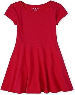 فستان أساسي بأكمام قصيرة للفتيات من ذا كيدز بليس