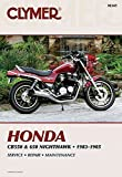 [(Honda CB550 and 650 1983-85 : Clymer Workshop Manual)] [By (author) E. Scott] published on (June, 1986)