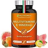 VITAMINE E MINERALI per sentirsi in FORMA TUTTO L ANNO!! Vitamina C, Sistema immunitario - BOOSTER di 11 Vitamine + 6 Minerali* 90 capsule qualità HACCP+* Capsule vegetali, senza glutine e vegane