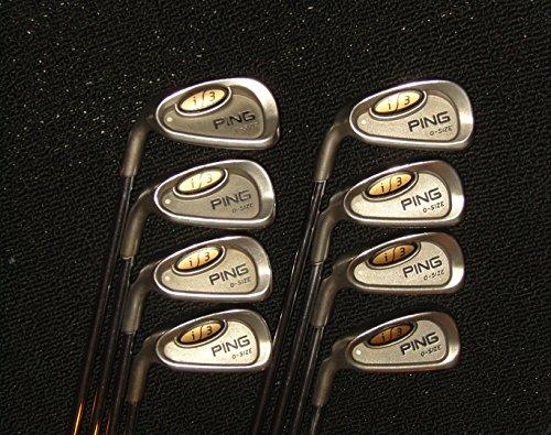 Ping I3 O-Size Golf Clubs, White Dot
