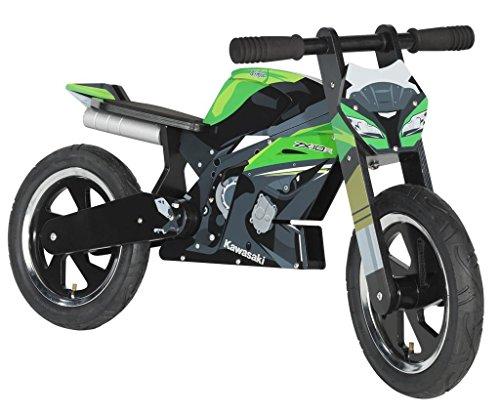Kawasaki NINJA Kiddimoto ZX-10R Laufrad, Balance Bike 015SPM0044- Motorrad-Jankwitz