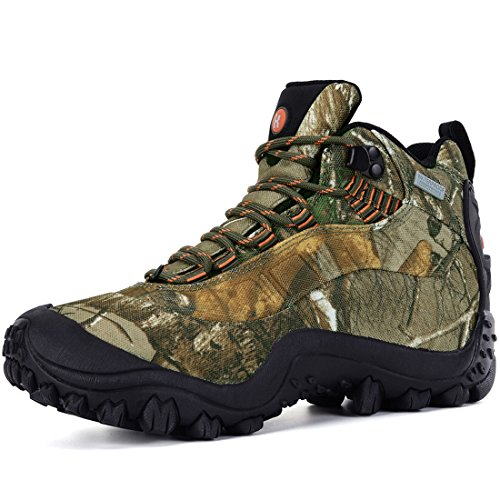 XPETI Men's Thermator Mid Waterproof Hiking Hunting Trail Boot Camouflage 12
