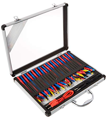 Electronic Specialties 146 Silver 12.5' x 9.5' x 1.75' 54 Piece Automotive Connector Test Kit