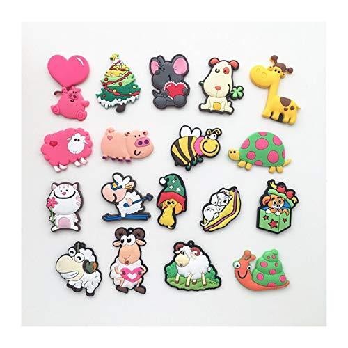 SunnyLou Lmanes de refrigerador 2pcs Lindo Dibujos Animados Animal imanes imán de frigorifa Pegatina de Pizarra (Color : 2)