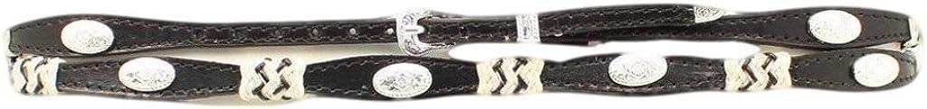 M /& F Western Scallop Concho Hatband