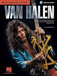 Van Halen - Guitar Signature Licks Bk/Audio Pkg