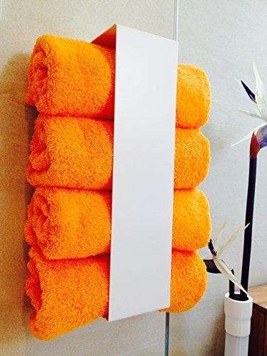 Weller Handtuchregal Handtuchhalter für große Handtücher Selbstklebend ohne Bohren