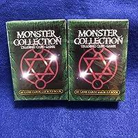 未開封 モンスターコレクション スターターパック カード60枚ルールブック1冊 2箱セット 美品 クリックポスト可