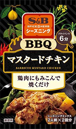 エスビー食品 Spice&HERBシーズニング BBQマスタードチキン 19G ×10袋
