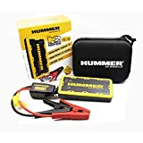 Hummer H2 Mini Jumpstarter/Charger 12.000mAh + LED Light, Amarillo/Negro
