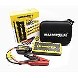 Hummer H2 Mini arrancador/Cargador 12.000 mAh + luz LED, Amarillo, Negro