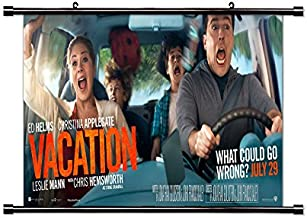 Vacation 2015 Movie Fabric Wall Scroll Poster (32x15) Inches