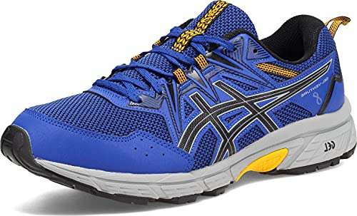 ASICS Men's Gel-Venture 8 Running Shoes, 10.5M, Monaco Blue/Black