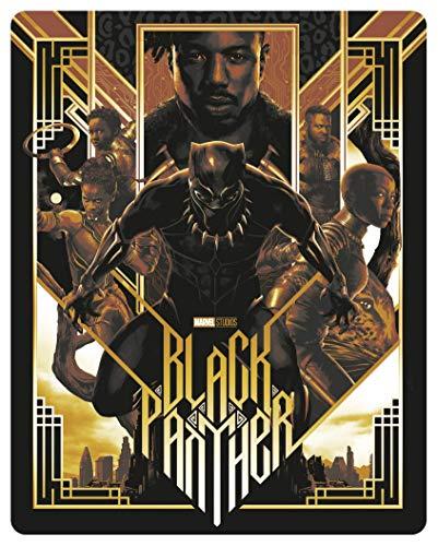 Black Panther [4K Ultra HD + Blu-Ray-Édition boîtier SteelBook]