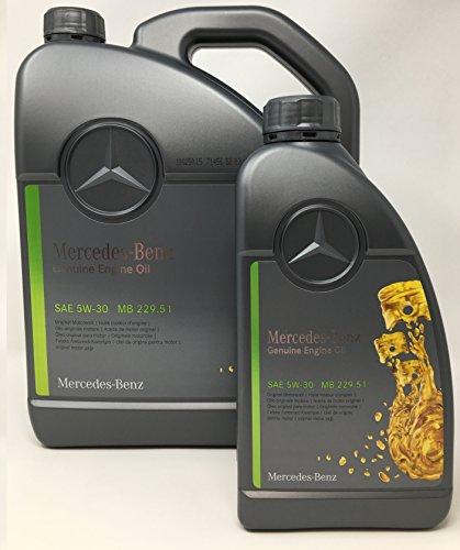 Mercedes Benz Original Motoröl 5W30 229.51 6Liter