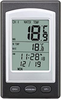 Fenteer Wireless Swimming Pool Thermometer, Digital Floating Thermometer for Swimming Pool, Bath Water, Spas, Hot Tubs, Aq...