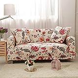 WXQY Fundas elásticas Funda de sofá elástica para Mascotas Funda de sofá con protección para Mascotas Funda de sofá con Todo Incluido en Forma de L Fundas de Muebles A14 2 plazas