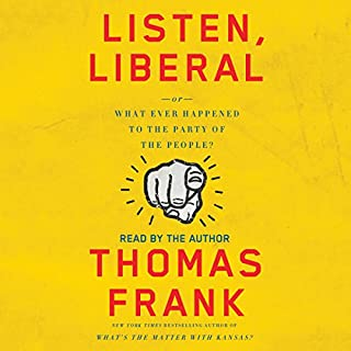 Listen, Liberal audiobook cover art
