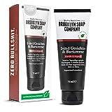 Bartcreme & Gesichtscreme (75 ml) · 2-in-1 Bartpflege der BROOKLYN SOAP COMPANY · Alternative zum Bartöl oder zum Bart Balsam · Weicherer 3-Tage-Bart & weniger Bartjucken ✓