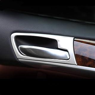 Lasamot Maniglia Porta Lato Guidatore Anteriore Maniglia Porta Lato Sinistro Porta Maniglia Esterno 51218243615 Sostituzione per BMW X5 E53 1998-2006