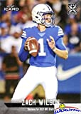 ZACH WILSON 2021 Leaf iCard #15 FIRST EVER ROOKIE Card in MINT Condition! Limited Edition Short Print card only 840 Produced! Shipped in Top Loader! Future NFL Star Quarterback! WOWZZER!