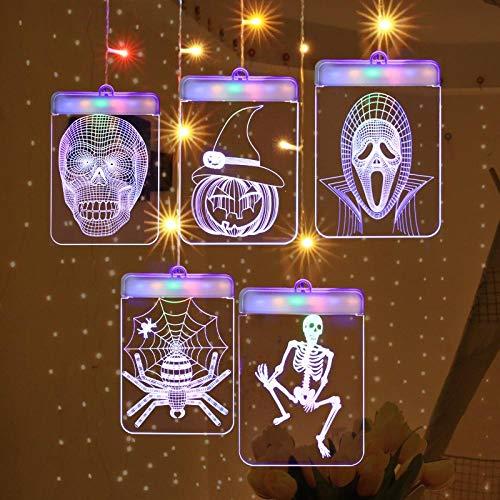 Poster decorativo di arte della parete della lampada della zucca della pittura della tela di Halloween per l\'immagine della decorazione domestica del salone@60x60 cm Senza cornice_Z175