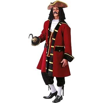 FIESTAS GUIRCA Disfraz de capitán Pirata Completo: Amazon.es ...