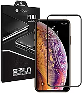 Mocoll 2.5D Glass Full Screen Protector For Apple iPhone XS Max, Black Edges
