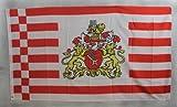 Flagge Fahne ca. 90x150 cm : Bremen große Wappen bremer Bremenflagge