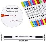 Immagine 2 pennarelli acquarelli colore brush pen