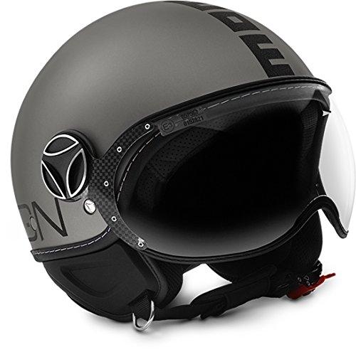 MoMo Helm Evo Titan frost/schwarz l