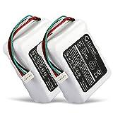 CELLONIC 2X Batería Premium Compatible con Logitech Squeezebox Radio - 533-000050,HRMR15/51,NT210AAHCB10YMXZ (2000mAh) bateria Repuesto Pila