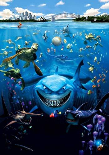 TTbaoz 1000 Pezzi Puzzle Jigsaw per Adultialla Ricerca di Nemo Poster di Film Puzzle di Carta Giochi educativi Brain Challenge Puzzle Sets Bambini Bambini Adolescenti Famiglia