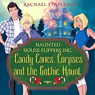 Candy Canes, Corpses and the Gothic Haunt audiobook cover art