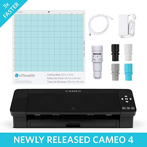 Silhouette Cameo 4 with Bluetooth, 12x12 Cutting...