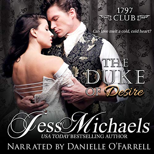 The Duke of Desire audiobook cover art