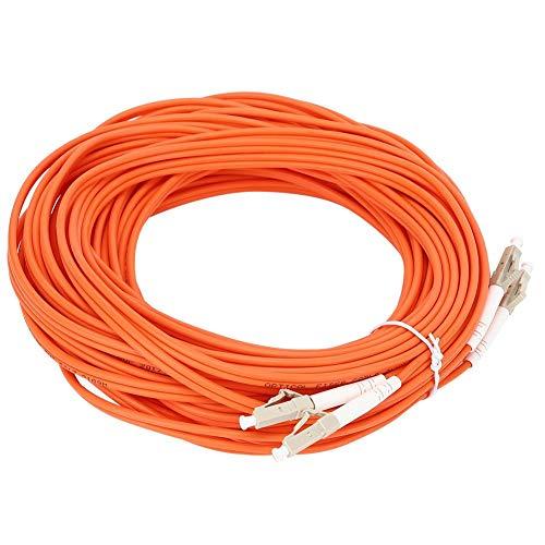Cable de Fibra Óptica de 15 M, Cable de Conexión de Fibra...