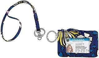Vera Bradley Zip Id Case and Lanyard Badge Holders (African Violet)