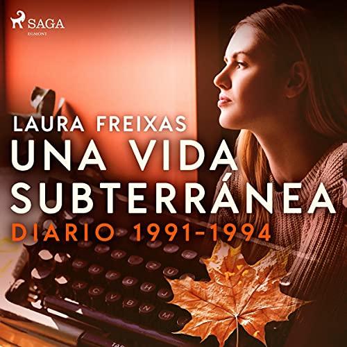 Diseño de la portada del título Una vida subterránea