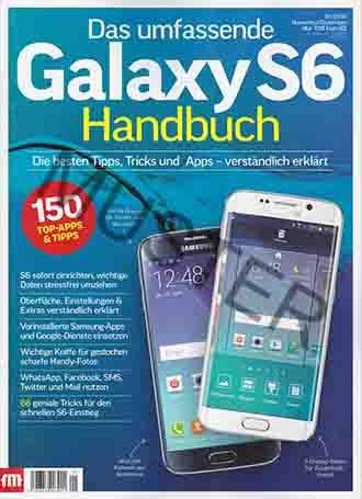 Das umfassende Galaxy S6 Handbuch 01 / 2016 November / Dezember